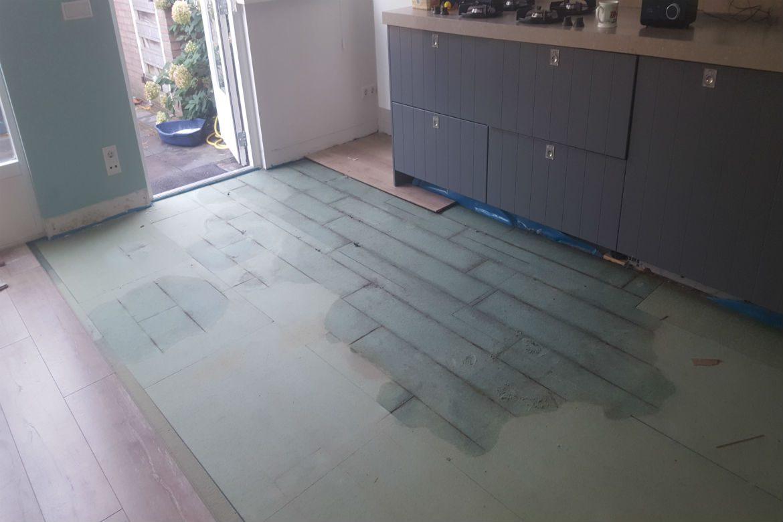 Schade ondervloer laminaatvloer