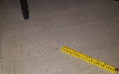 Verhuisschade parketvloer